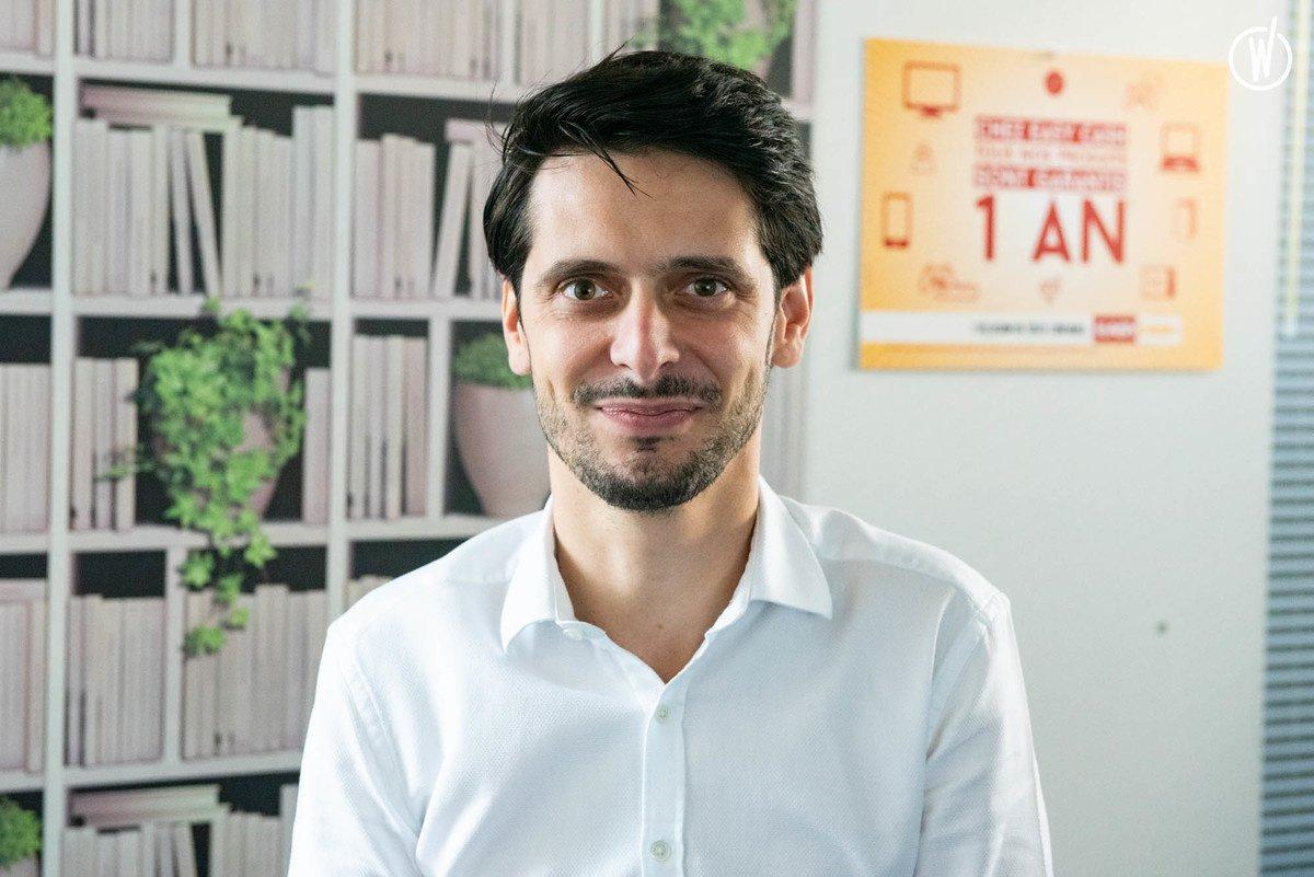 Rencontrez Valentin, Responsable Informatique & Directeur de projets innovants - Easy Cash