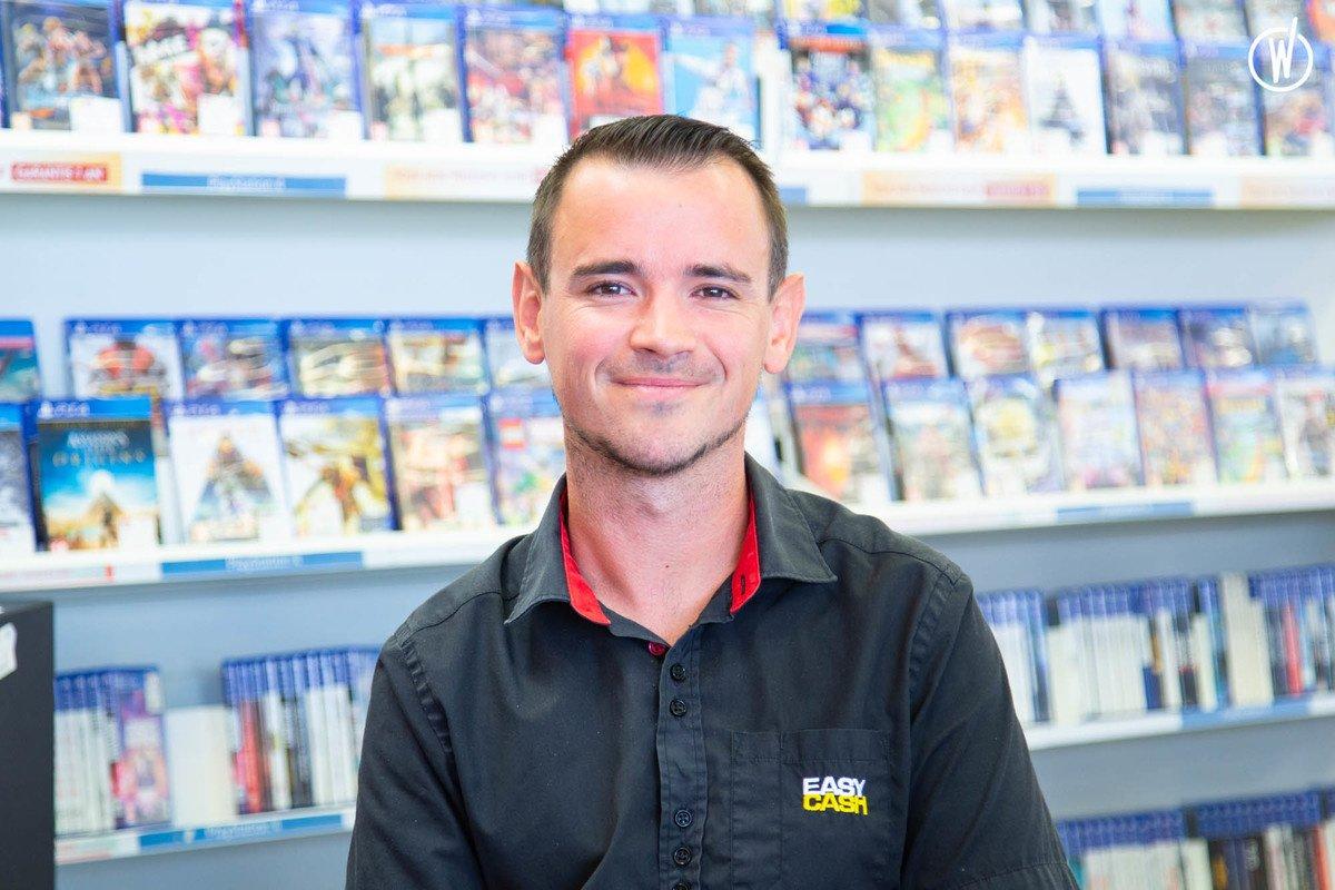 Rencontrez Benoit, Responsable Jeux Vidéo - Easy Cash