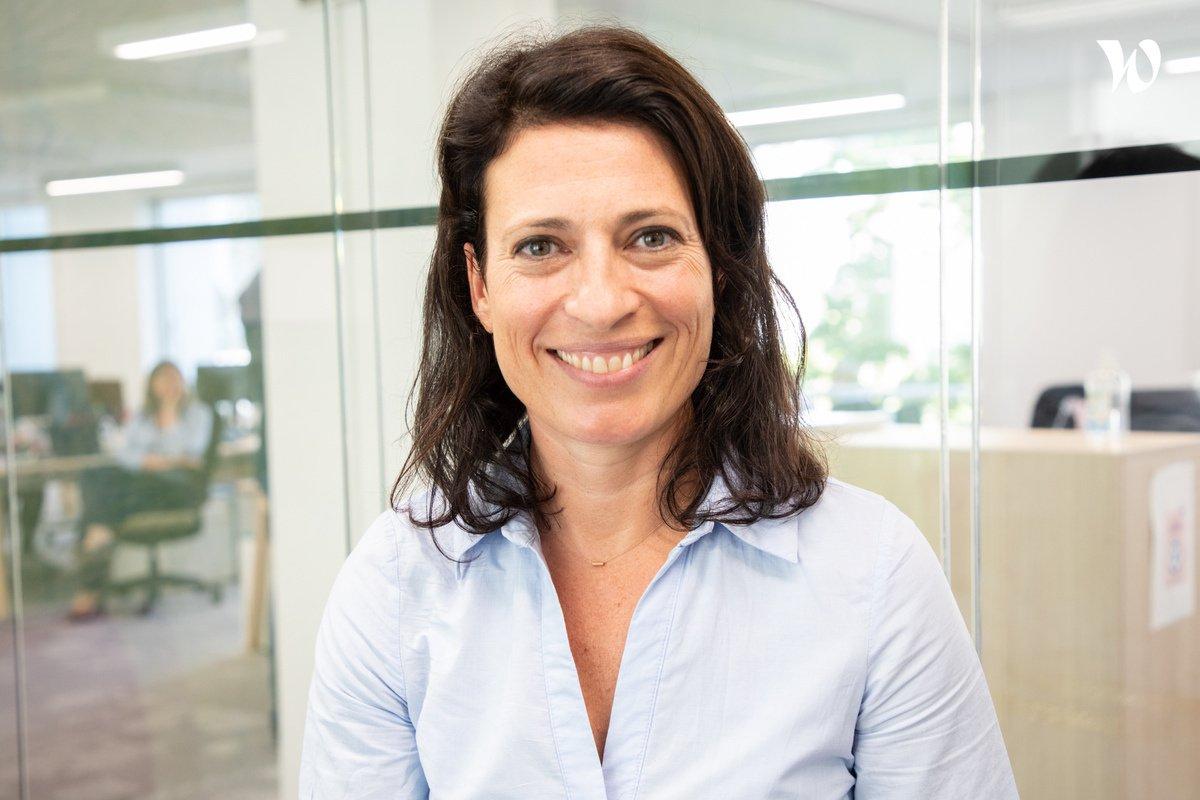 Rencontrez Géraldine, Directrice Planning Stratégique - Isoskele