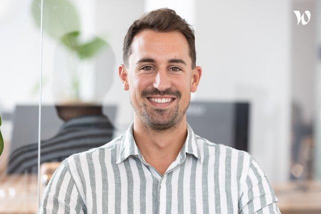 Rencontrez Théo, Sales Manager - Trone