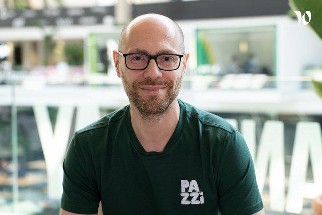 Rencontrez Jean François, Chief Business Development Officer - PAZZI