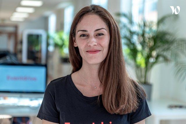 Rencontrez Eva, Head of Customer Success - Eventdrive