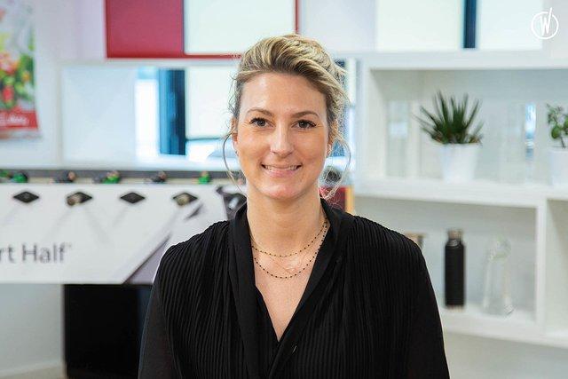 Rencontrez Pamela, Consultante - Management de Transition - Robert Half France
