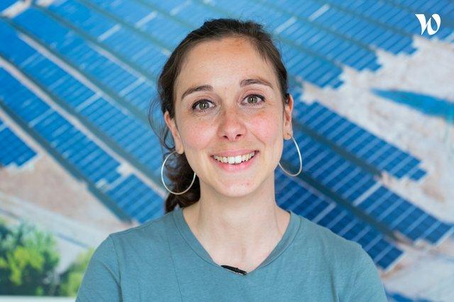 Rencontrez  Angèle, Ingénieure Expertise Technique Eolien - VSB énergies nouvelles