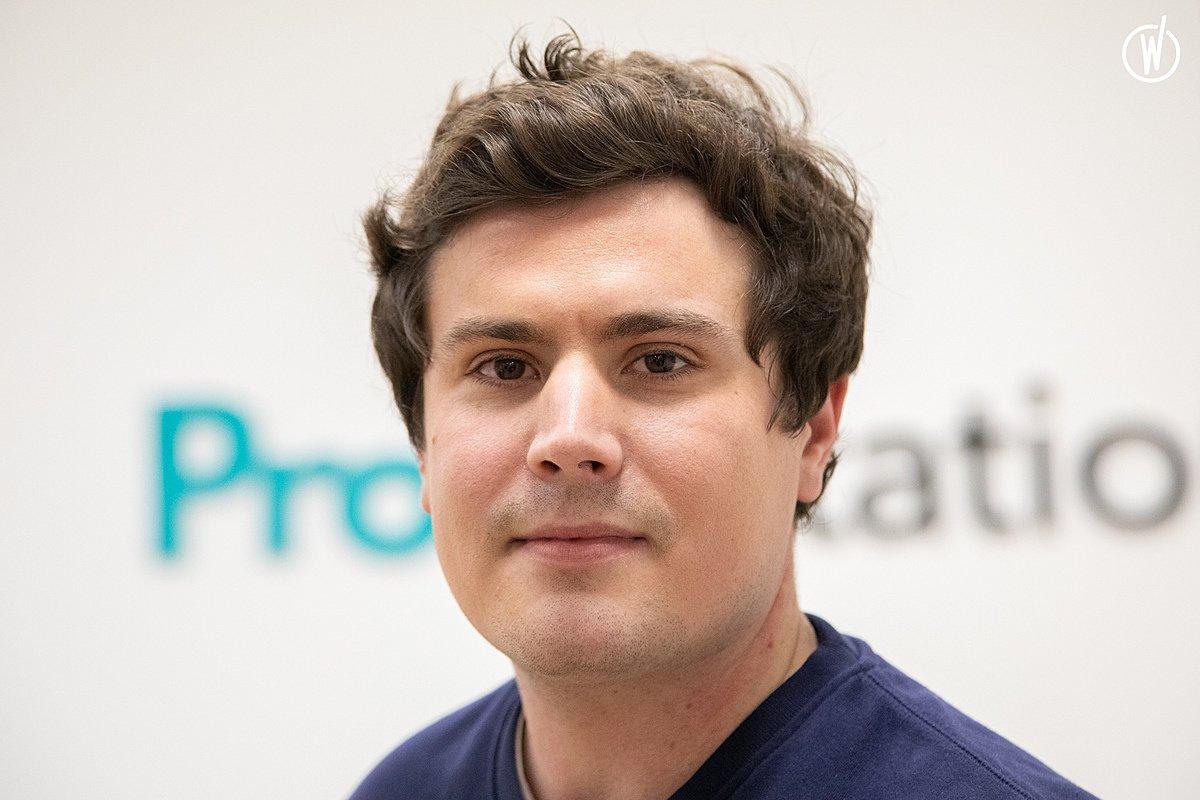 Rencontrez Cédric, CEO & Co-founder - ProovStation