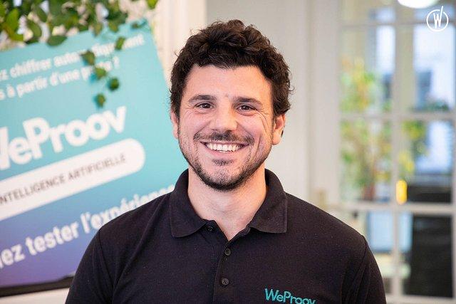 Rencontrez Alexandre, Directeur des Opérations - WeProov