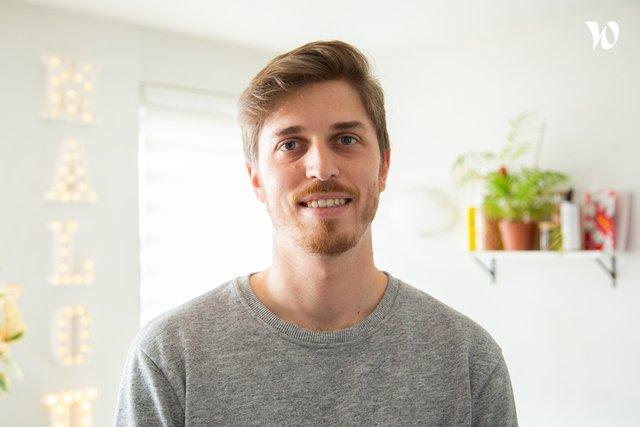 Rencontrez Victor, Lead Developer - Malou