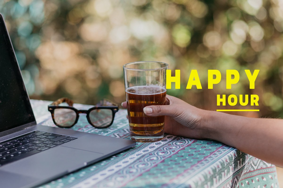 Happy hour during corona: positive news on April 17th