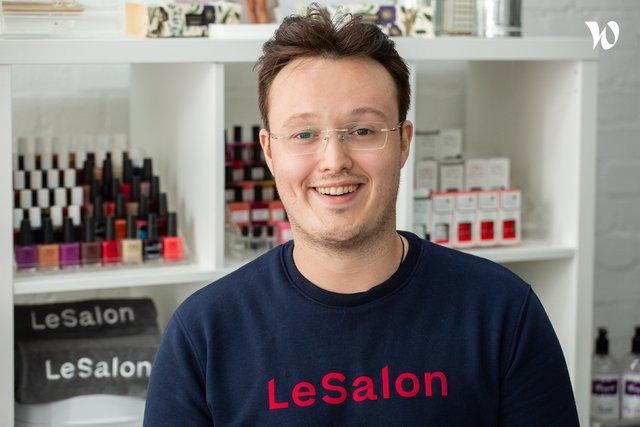 Rencontrez Nabil, CTO & Co-founder - LeSalon