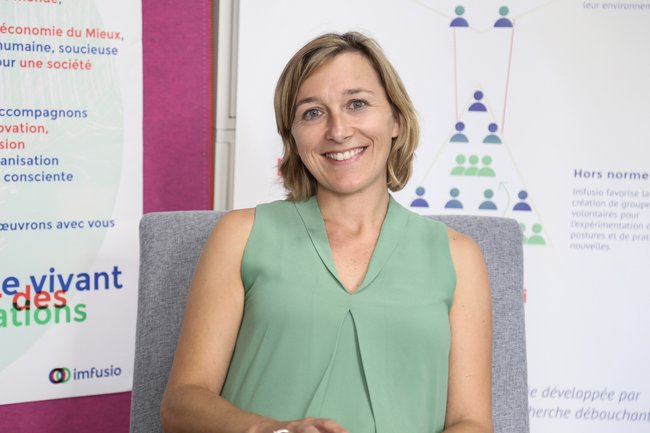 Rencontrez Nathalie, Co-fondatrice - Imfusio