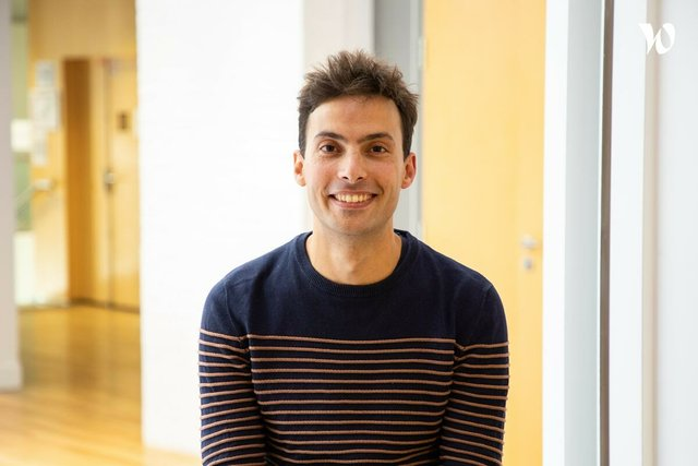 Rencontrez Florian, Head of engineering - Blank