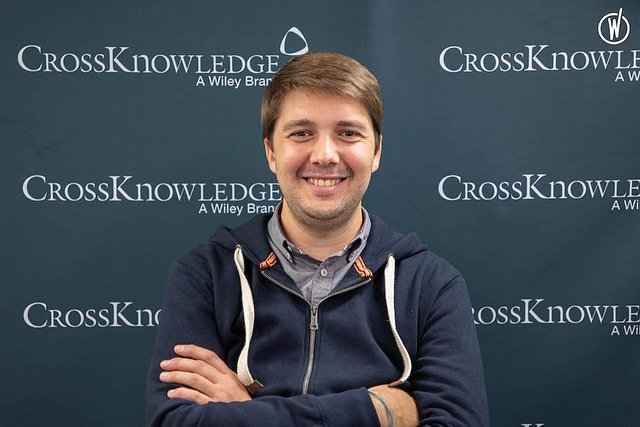 Meet Aymeric, Team Lead Software developer - CrossKnowledge