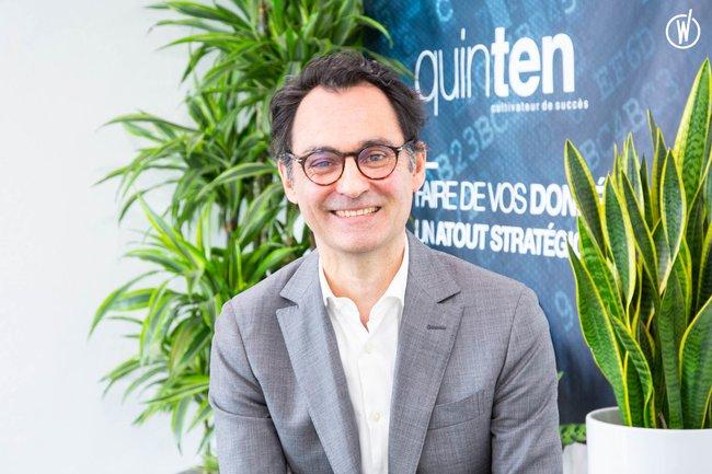 Rencontrez Guillaume, Co fondateur - Quinten