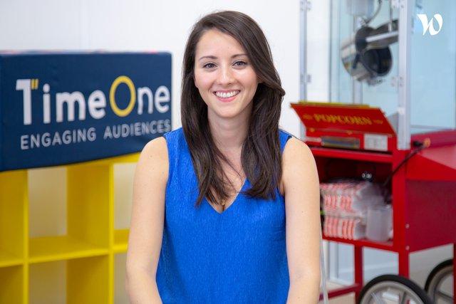 Rencontrez Djouher, Head of Key Account Management - TimeOne