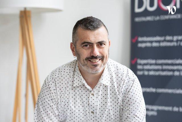 Rencontrez Christophe, Consultant / Expert technique - DUONYX