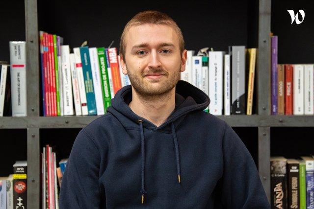 Rencontrez Lucas, Développeur / Responsable d'application  - Buawei