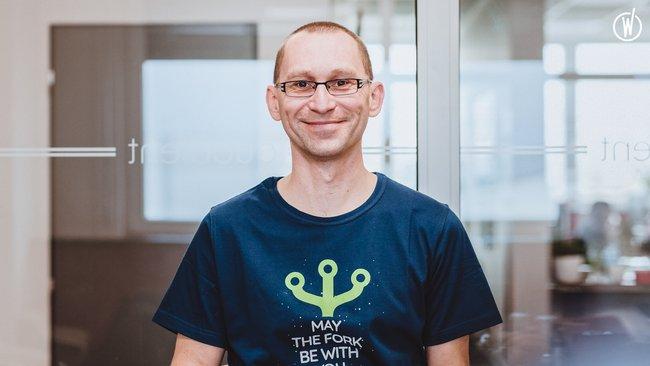 Rencontrez Lukáš, Team Leader - Quadient