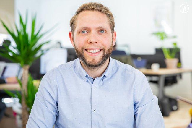Rencontrez Antoine, Project Manager - GEO PLC