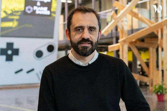 Rencontrez Frédéric, Directeur entrepreneuriat - Plaine Images