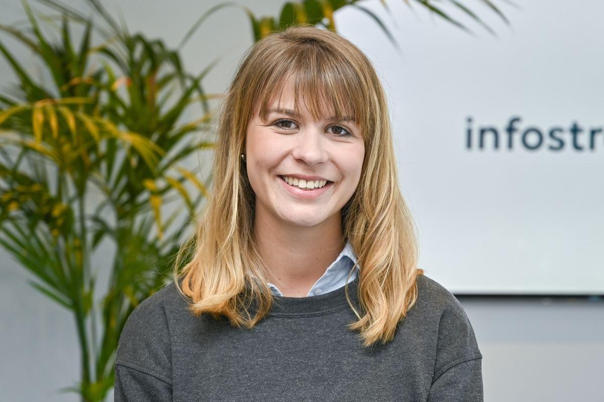 Rencontrez Pauline, Chef de projet digital - Infostrates