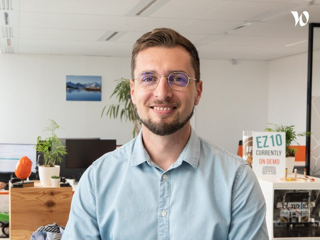 Rencontrez Arnaud, Head Of Safety Critical Embedded Systems - EasyMile