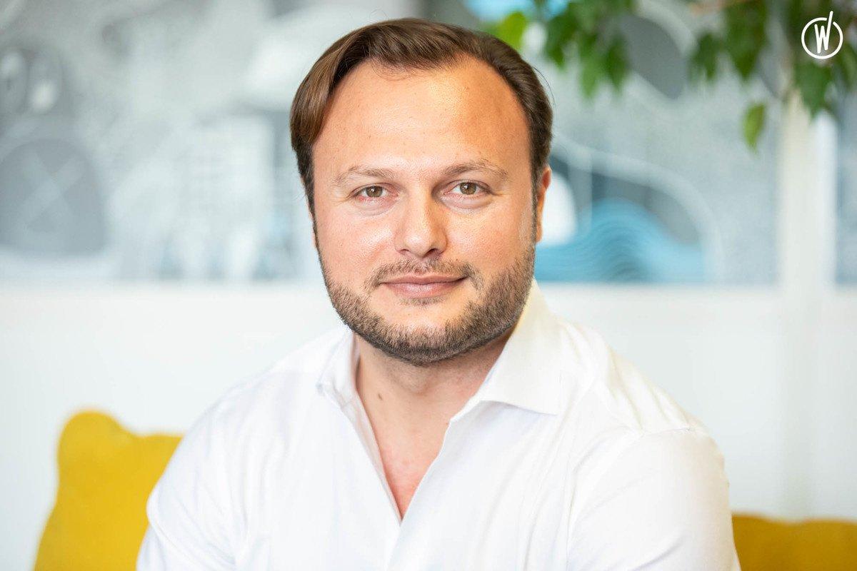 Rencontrez Gjergj, President & CEO - Gutenberg Technology