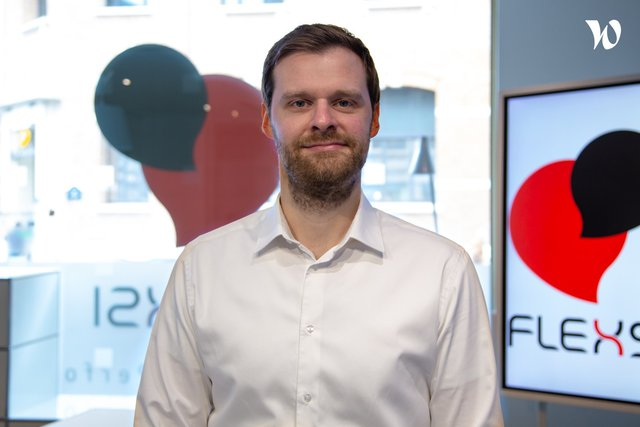 Rencontrez Baptiste, Responsable de l'équipe projets - Flexsi