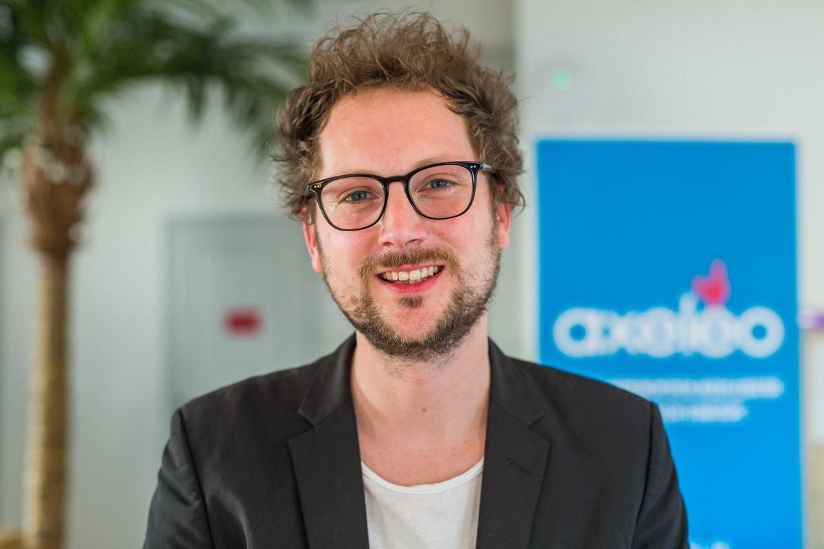 Rencontrez Matthias, Senior Startup Manager - Axeleo