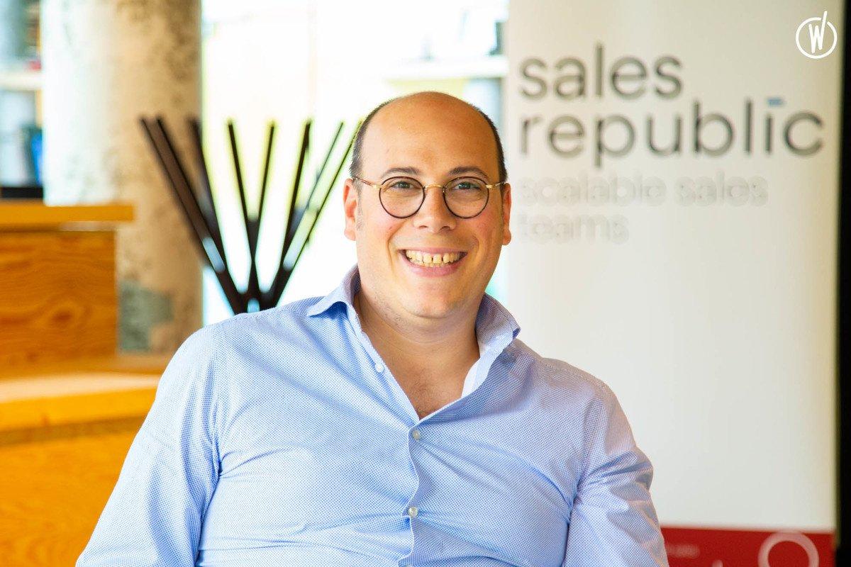 Rencontrez Gregory, CEO & Founder - SalesRepublic