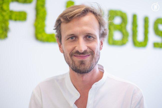 Rencontrez Yvan, Directeur Général - FlixBus