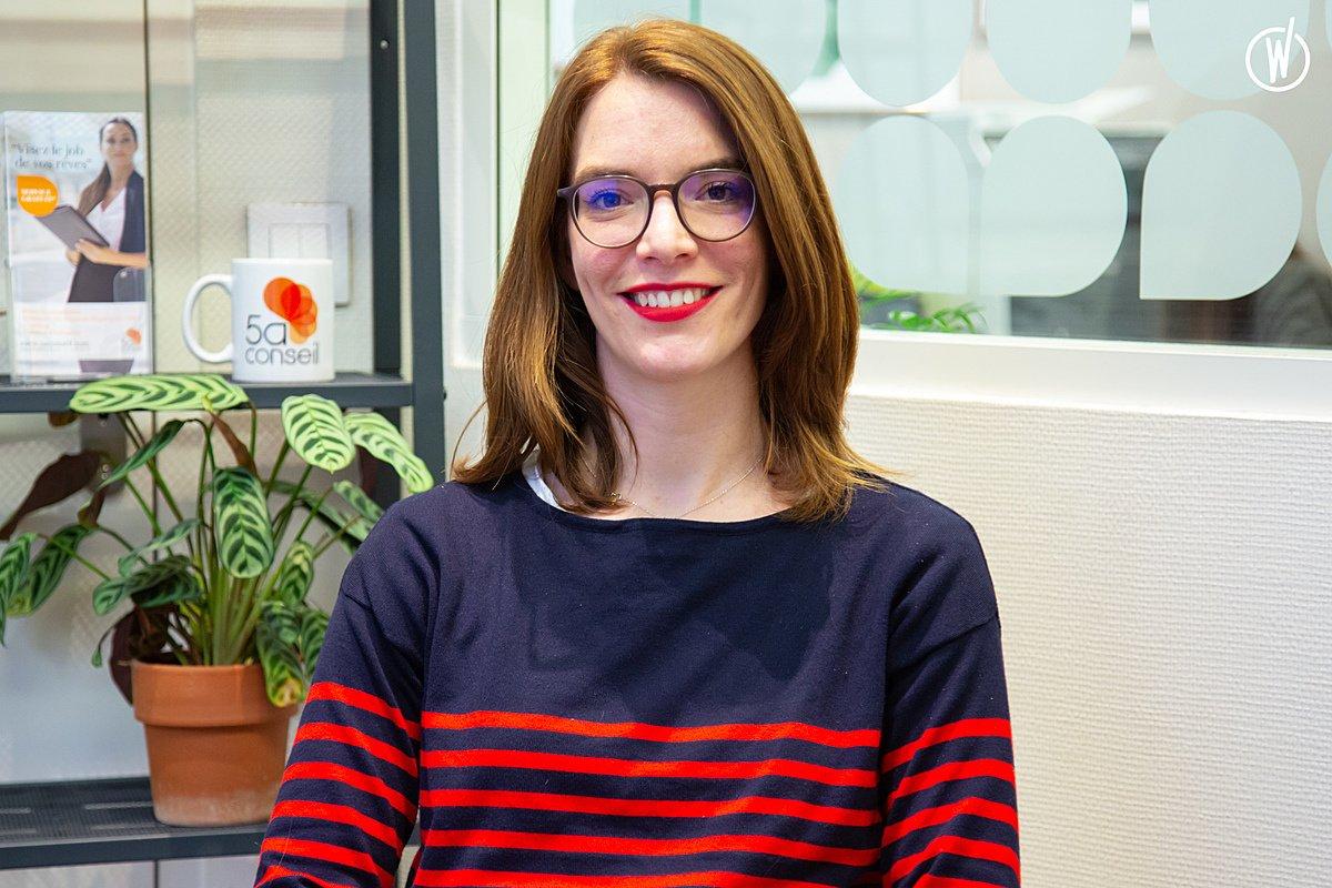 Rencontrez Alice, Consultante en Gestion de Carrière  - Garance & Moi (ex 5A Conseil)