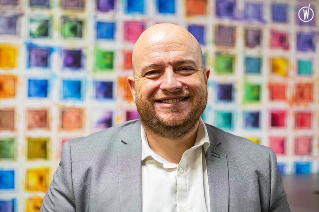 Rencontrez Benoit, Responsable du service Production - Gie Afer
