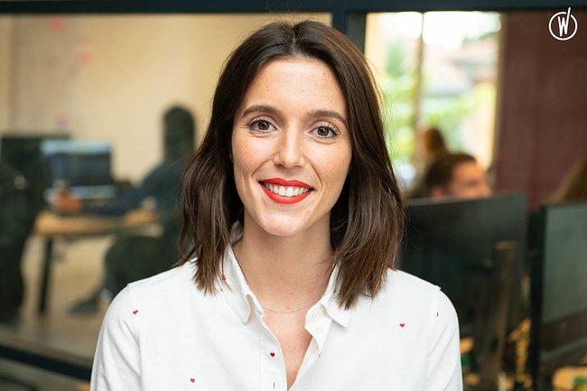 Rencontrez Valentine, Lead Talent Engineer - Easy Partner