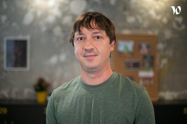 Rencontrez Damien, Co-fondateur - Eatic