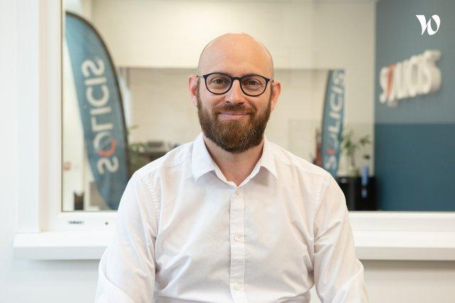 Rencontrez Christophe, Directeur Technique & Co-fondateur - Solicis