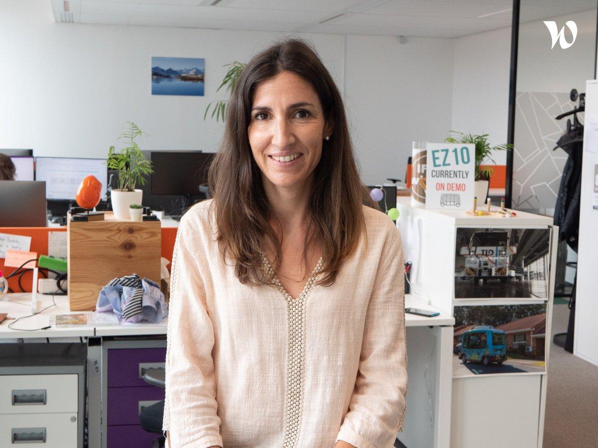 Rencontrez Celine, Sales Administration Coordinator - EasyMile