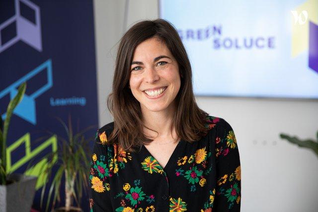 Rencontrez Elodie, Directrice de projets Référente Hub Content - Green Soluce