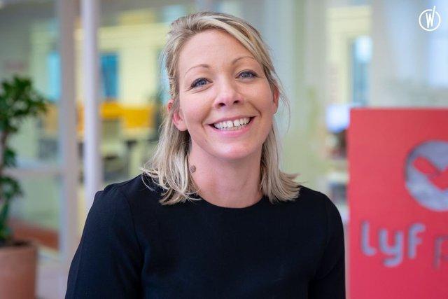 Rencontrez Aude, Directrice Marketing - Lyf Pay