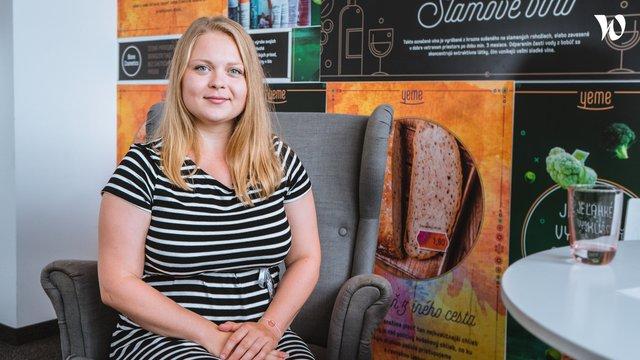 Denisa, Manažérka kvality - Yeme plnochutné potraviny