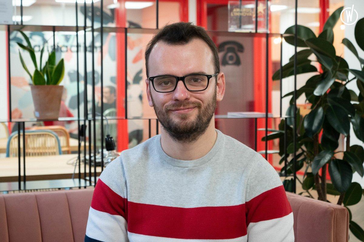 Rencontrez Côme, Developer Full Stack - Kiute