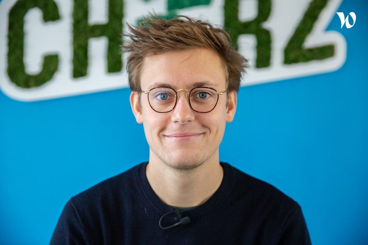 Rencontrez Romain, Supply Chain Manager - Cheerz