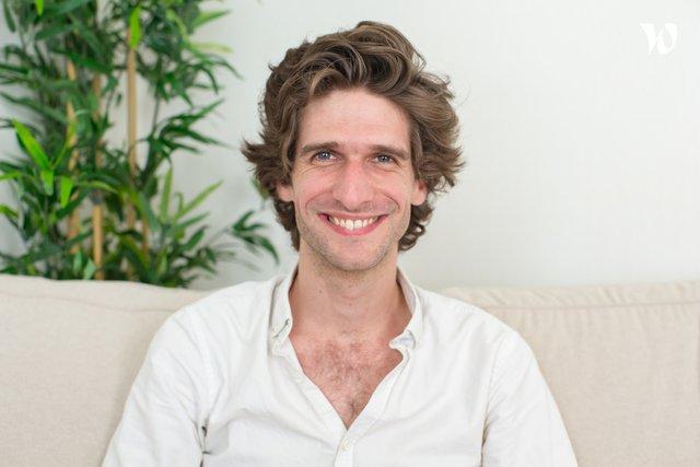 Rencontrez Benoit, Co-fondateur - On train