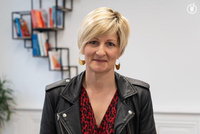 Rencontrez Anne-Sophie, Présidente - Asys