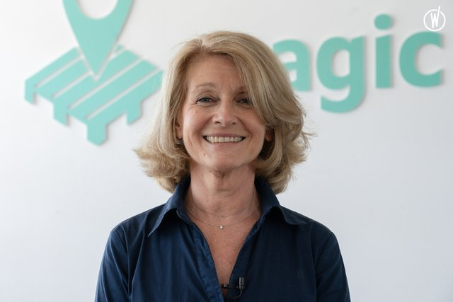 Rencontrez Andrée, Chief Marketing Officer - MagicPallet