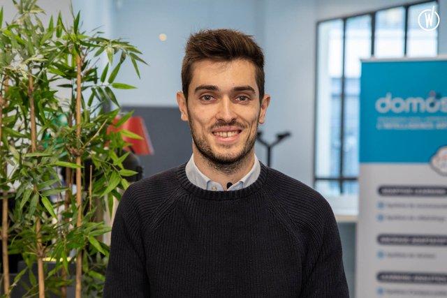 Rencontrez Evan, Head of Business Development - Domoscio