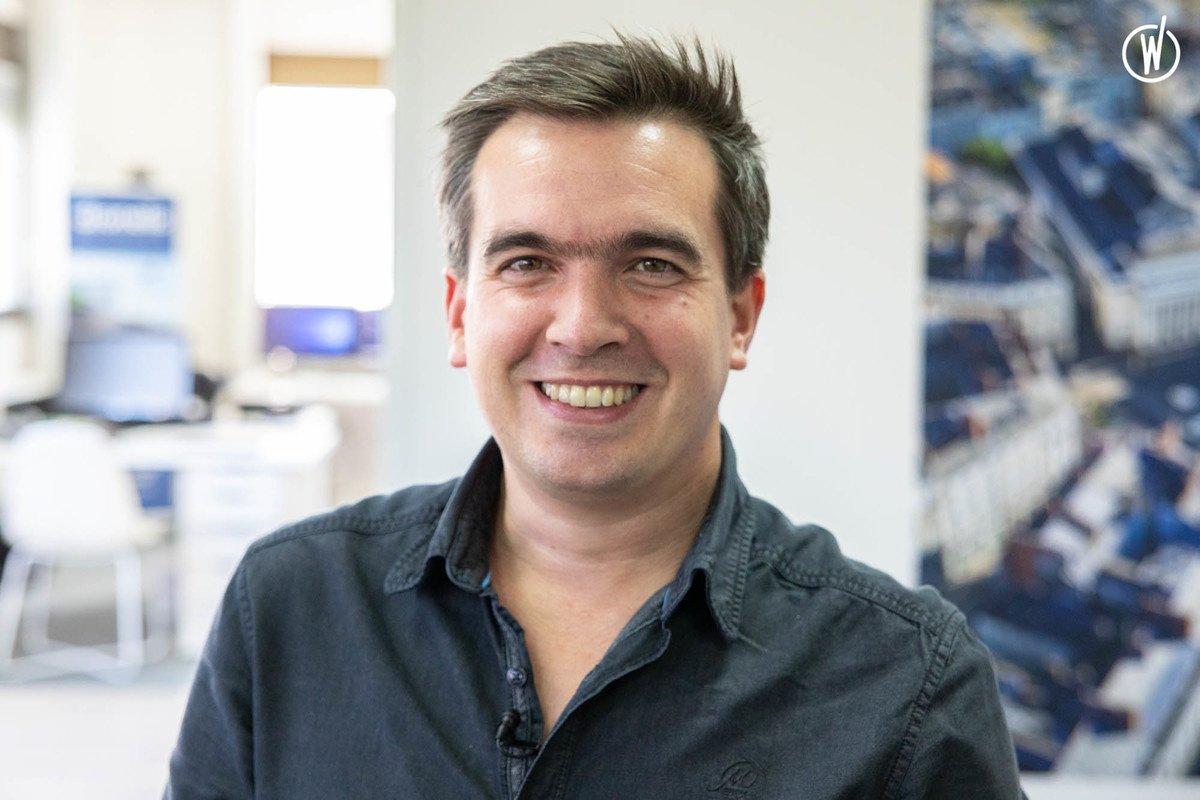 Rencontrez Martin, Sales Manager - Dronelis