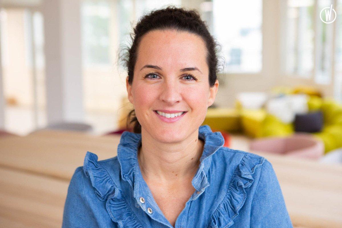 Rencontrez Julie, Directrice Commerciale - Happineo