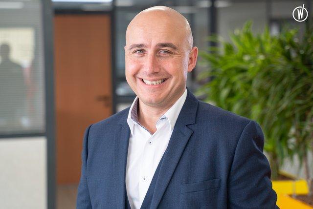 Rencontrez Carlo, Directeur Commercial Territoire Est chez Initial Textile - Rentokil Initial