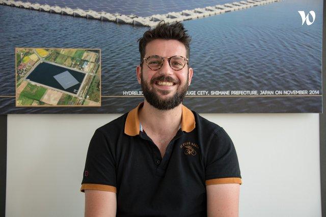 Rencontrez Vincent, Head of project EMEA (HYDRELIO division) - Ciel & Terre International