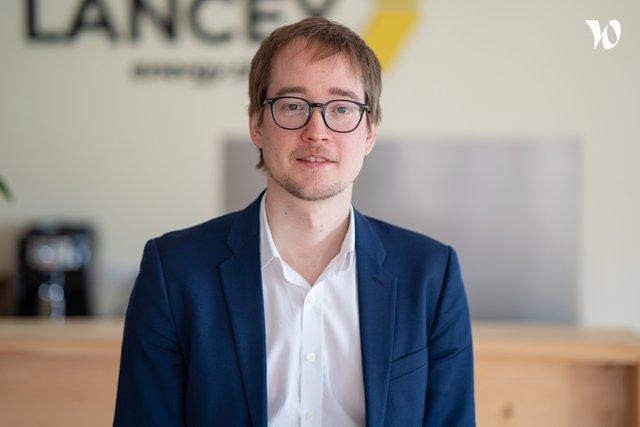 Rencontrez Raphaël, CEO - LANCEY Energy Storage